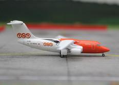 Jet-X TNT BAE146 G-TNTB Scale 1/400 JX366A