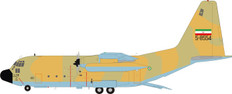 JFox Iran Air Force Hercules C130 with stand Scale 1/200 JFC130015