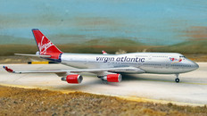 Gemini Jets Virgin Atlantic Boeing 747-400 G-VBIG Scale 1/400 GJVIR000