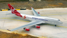 Gemini Jets Virgin Atlantic Boeing 747-400 Birthday Girl G-VFAB Scale 1/400 GJVIR003