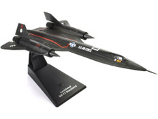 Atlas Jet age military aircraft SR-71 Blackbird Scale 1/144 MAGJK03