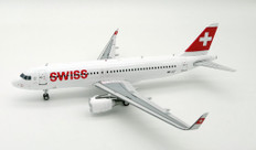 JFox Swiss International Airbus A320 HB-JLT with stand Scale 1/200 JFA320011