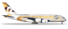 Herpa Wings Etihad Airways Airbus A380 Year of Zayed Scale 1/500 531948