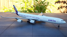 Gemini Jets Longer Larger Farther Airbus A340-600 Scale 1/400 GJAIR363