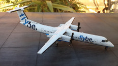 First Choice Flybe Dash8 Q400 G-JEDJ Scale 1/200 Scale 1/400 FC-2BOM001