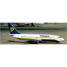 JC Wings Ryanair Boeing 737-200 EI-CKP with stand Scale 1/200 JC2049