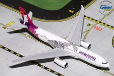 Gemini Jets Hawaiian Airbus A330-200 N380HA Scale 1/400 GJHAL1787
