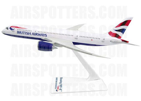 Premier Planes British Airways Boeing 787 Scale 1/200 SM787-64