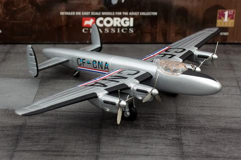 Corgi Trans Canada Air Lines Lancaster MK X-PP Scale 1/144 AA47401
