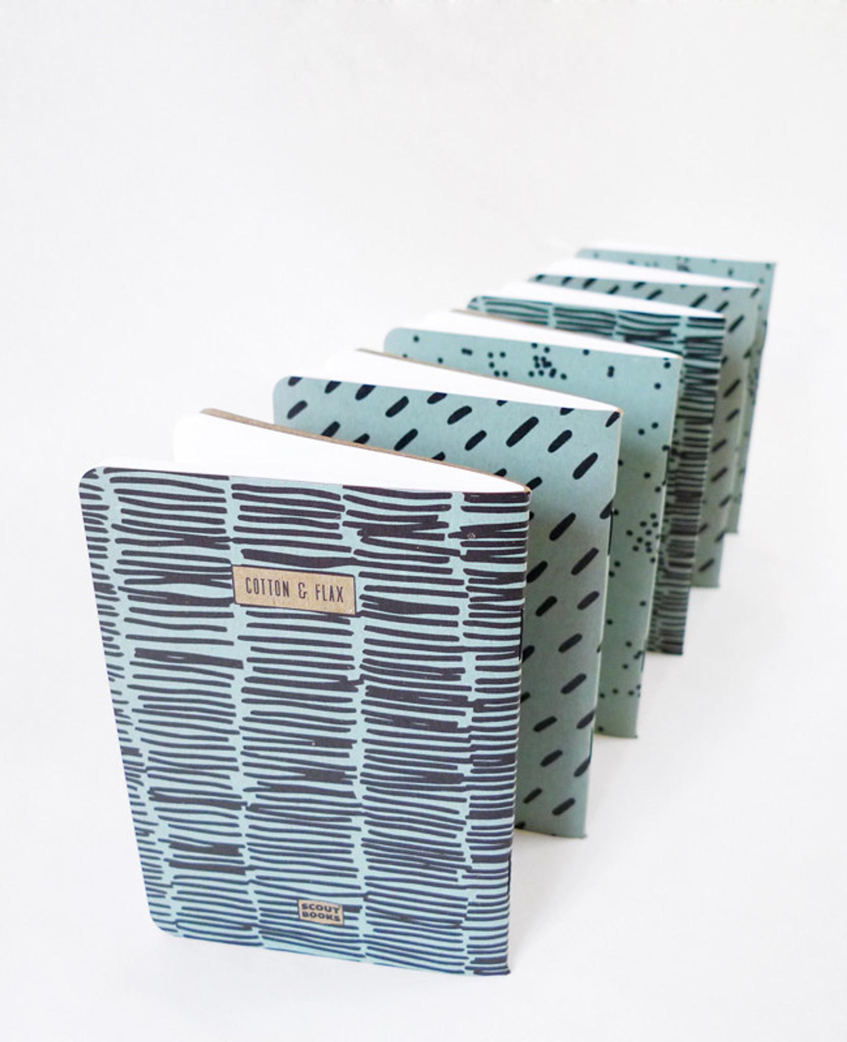 Blue Dash Notebook