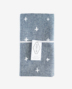 Blue Chambray Plus Tea Towel