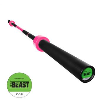 """CAP Custom """"The Beast"""" Olympic Lifting Bar, Bubblegum Pink (OB-86B-PK)"""