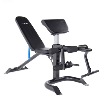 Fuel Pureformance Utility Bench with Curl Attachment