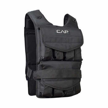 CAP Barbell Adjustable Weighted Vest, from 40-Pound to 120-Pound