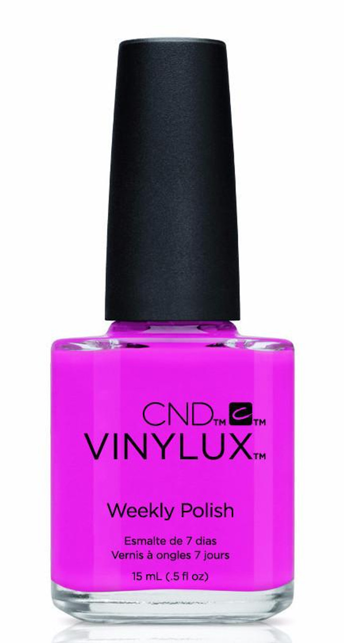 Creative Nail Design Vinylux Hot Pop Pink Nail Polish - Trade Secret