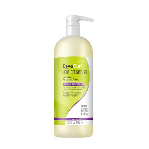 DevaCurl Light Defining Soft Hold No-Crunch Styler Gel 32oz