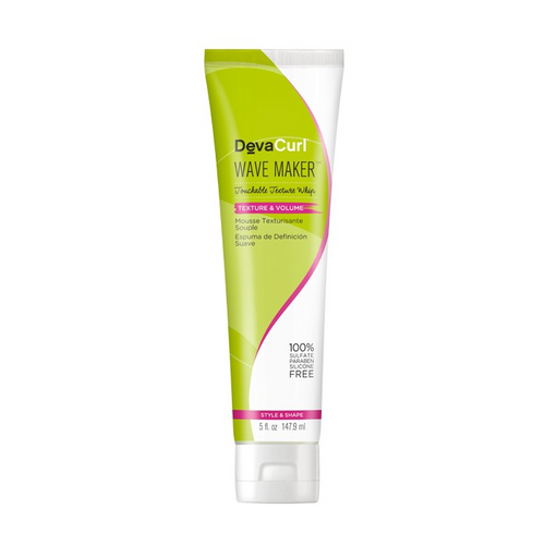 DevaCurl Wave Maker Touchable Texture Whip, 5 oz