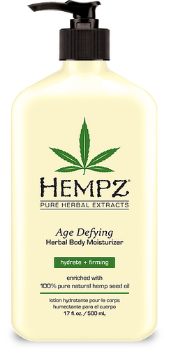 Hempz Age Defying Herbal Body Moisturizer, 17-oz