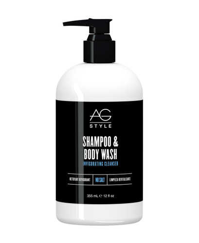 AG Hair Invigorating Cleanser Shampoo & Body Wash 12 oz