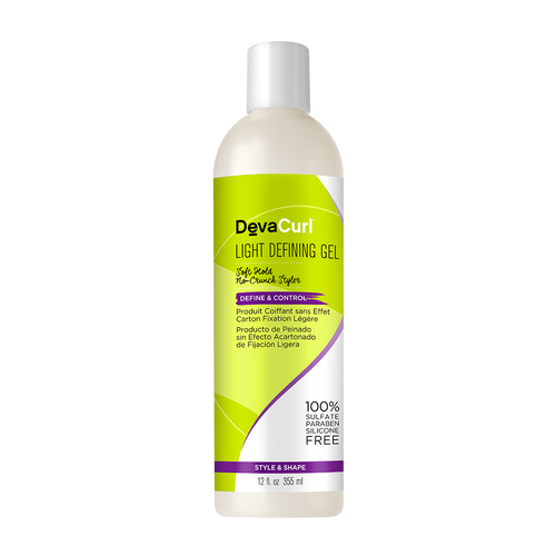 DevaCurl Light Defining Soft Hold No-Crunch Styler Gel 12oz