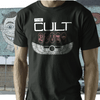 the Cult  T shirt  band  on black southern death cult