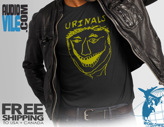 the Urinals  T shirt  100 flowers  band