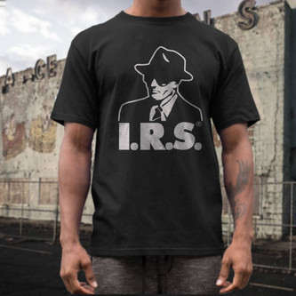 IRS records t shirt