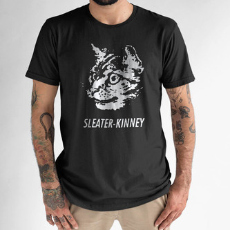 Sleater-Kinney band  t shirt  Olympia riot grrrl heavens to betsy, Quasi, excuse 17
