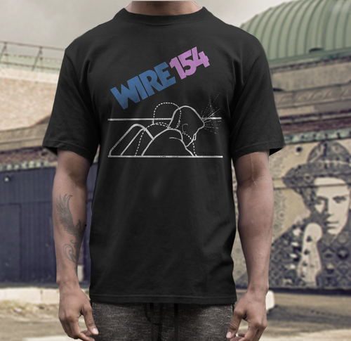 wire band t shirt