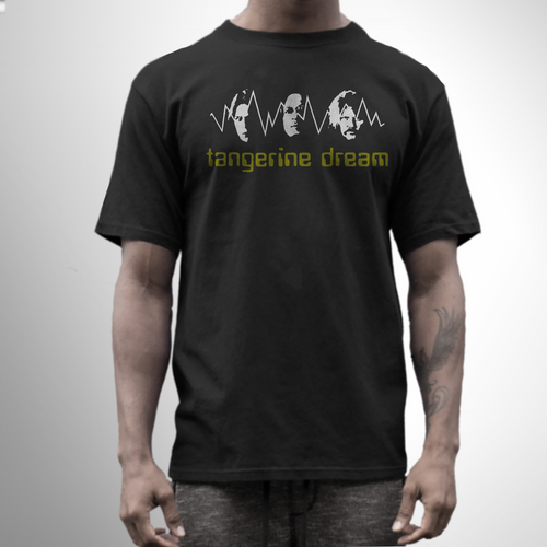 Tangerine dream band t shirt