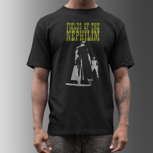 fields of the nephilim band t shirt