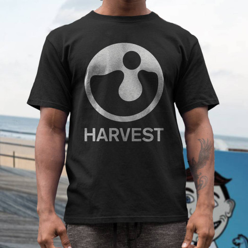 Harvest record lable  t  shirt