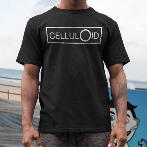celluloid record label t  shirt