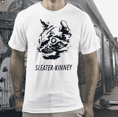 sleater kinney band t shirt