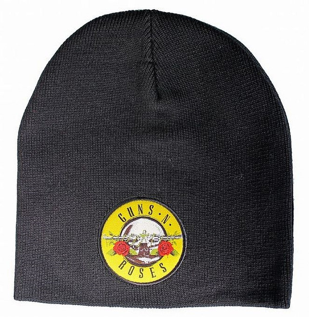 Guns N Roses Bullet Logo Double Sided Beanie Hat
