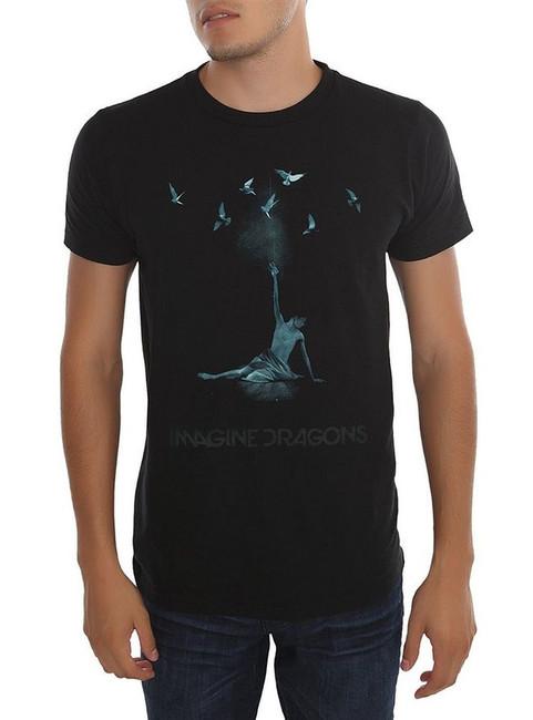 Imagine Dragons Ballerina Birds T-Shirt