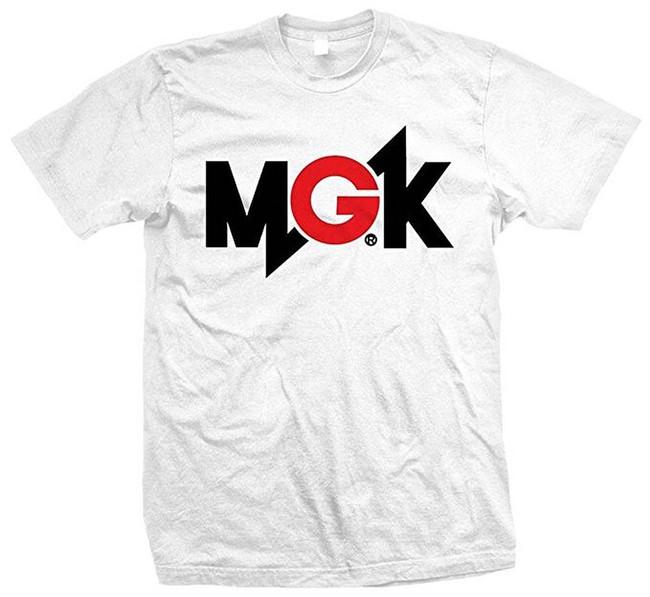 Machine Gun Kelly MGK Logo Men's T-Shirt White