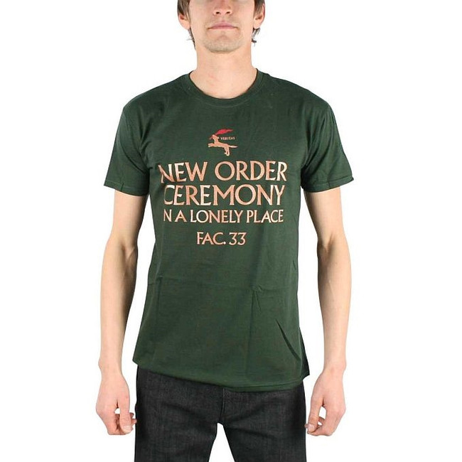 New Order In a Lonely Place Fitted T-Shirt
