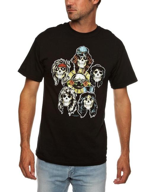 Guns N Roses Heads Vintage T-Shirt