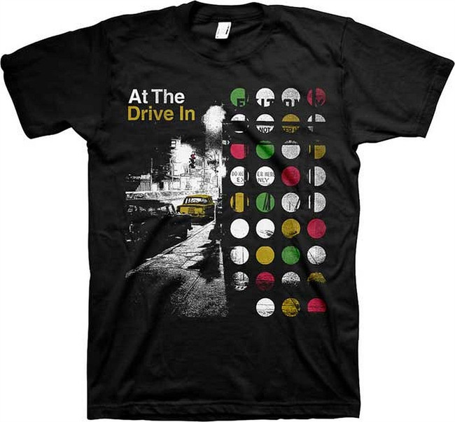At The Drive-In Street Men's Slim T-Shirt