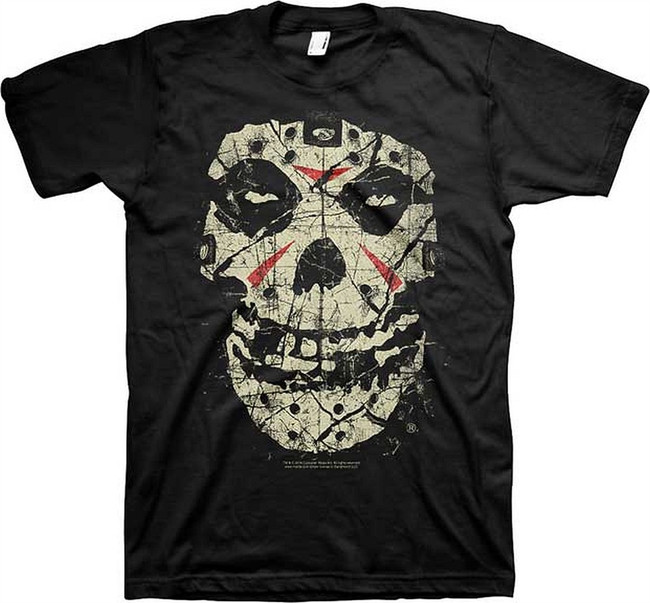 Misfits Fiend Crystal Lake Men's Slim T-Shirt