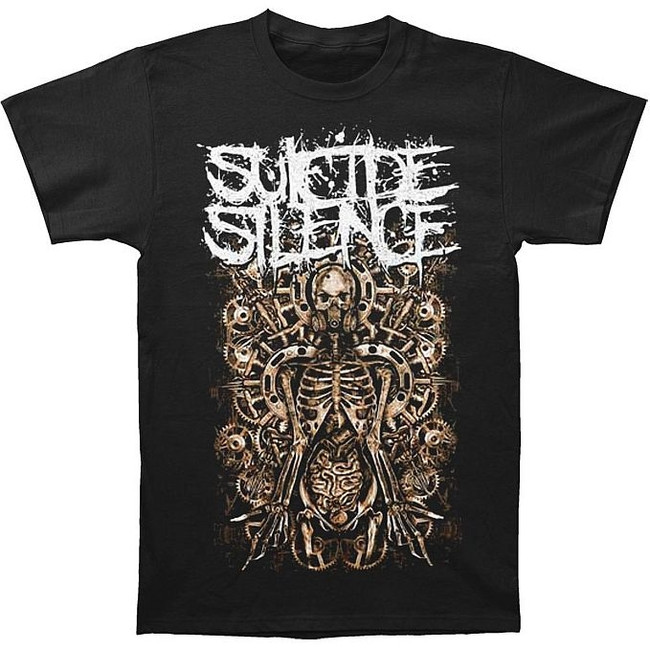 Suicide Silence Mangled Gears T-Shirt