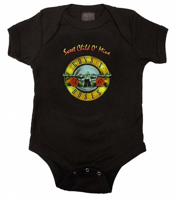 Guns N Roses Sweet Child Baby Romper T-Shirt