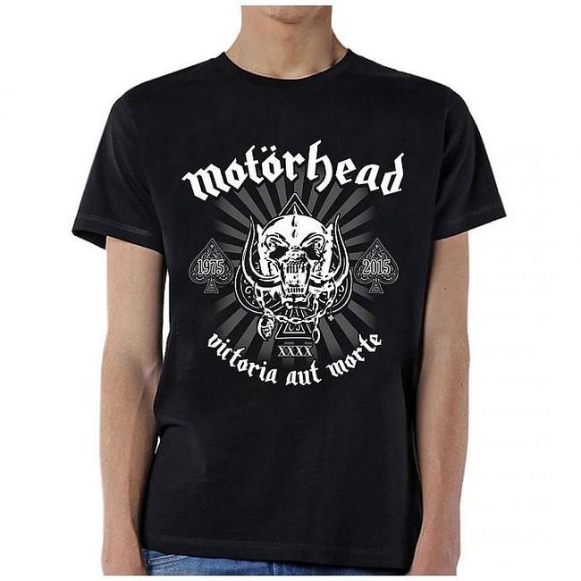 Motorhead 40th Anniversary Logo T-Shirt
