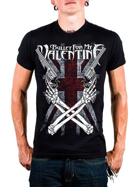 Bullet For My Valentine - Cross Guns T-Shirt
