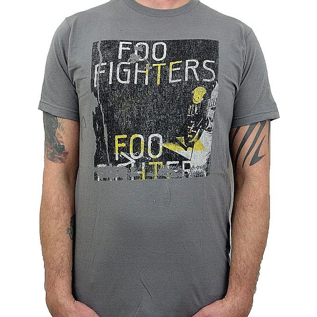 Foo Fighters Boxed Guitar T-Shirt