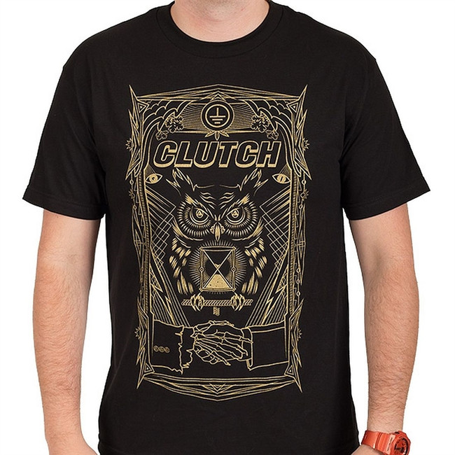 Clutch All Seeing Owl T-Shirt