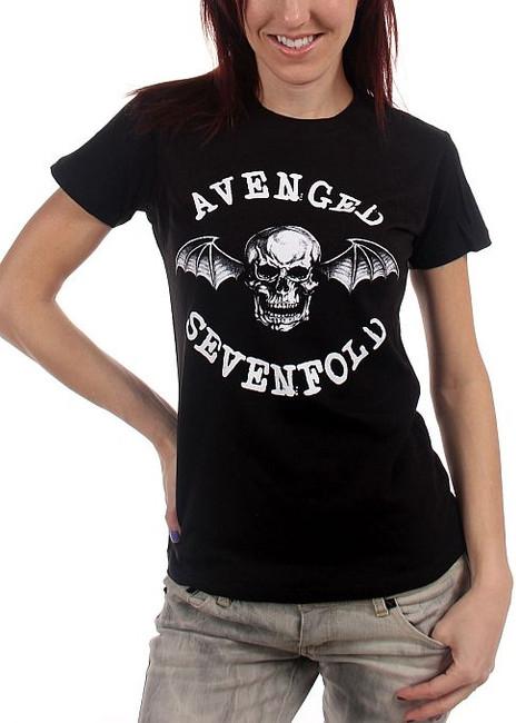 Avenged Sevenfold - Classic Deathbat Junior Girlie T-Shirt