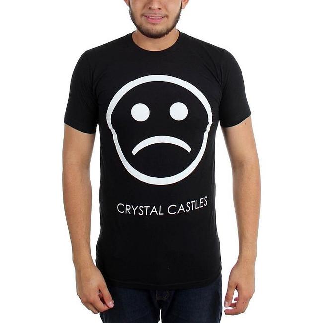 Crystal Castles Sad Face T-Shirt