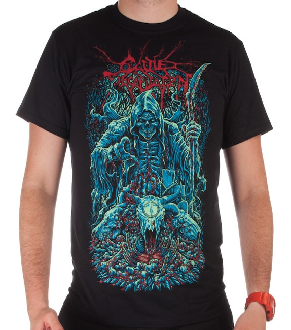 Cattle Decapitation Death Looms T-Shirt